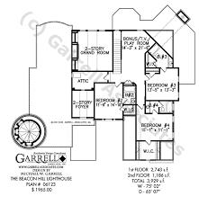 lighthouse floor plans beacon hill lighthouse plan house plans by garrell associates inc