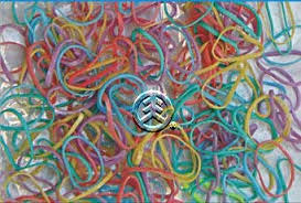 hair rubber bands pack of 250 small assorted pastel 2 elastic rubber bands for