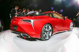 lexus lf lc performance 2018 lexus lc 500 first look review motor trend