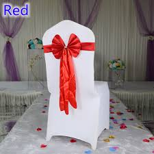 wholesale chair sashes colour chair sash wedding butterfly bow tie lycra