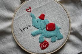 embroidery thursday felt applique tutorial the former