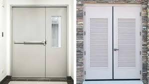 Commercial Metal Exterior Doors Louvered Exterior Doors Metal Louvered Doors Interior Angles Of A