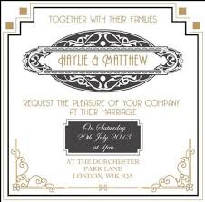 Gatsby Invitations 22 Best Gatsby Faire Part Images On Pinterest Art Deco Wedding