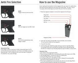 free download manual for echo1 sob series airsoft aeg