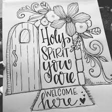 bible journaling coloring page