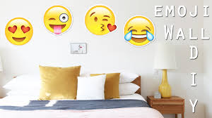 diy emoji wall decor paper super easy with dianata diy emoji wall decor paper super easy with dianata