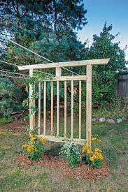 How To Build A Trellis Multi Purpose Garden Trellis Plans Diy Mother Earth News