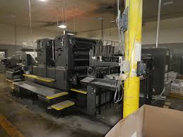 used offset printing machine dealers imported printing machines