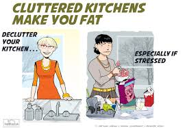 study your cluttered kitchen is making you fat u2013 sparefoot blog
