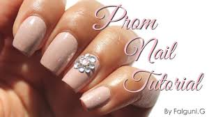 simple prom nail tutorial youtube