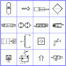 autocad symbols using iso 1219 bs 2917 specs