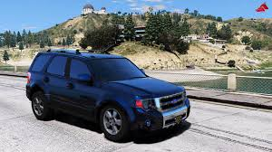 Ford Escape Blue - ford escape 2012 add on replace tuning wipers hq gta5 mods com