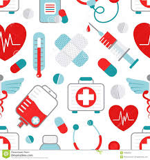 doctor who wrapping paper medicine seamless pattern stock vector illustration of