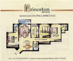 floor plans princeton dlf princeton estate gurgaon