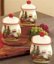 kitchen canister sets tuscan style on popscreen