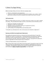 resume accomplishment statements examples hitecauto us