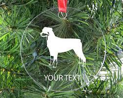 rottweiler ornament etsy