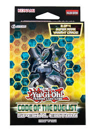 yu gi oh code of the duelist special edition 12 box case da