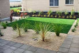 garden simple landscaping ideas for front of house simple