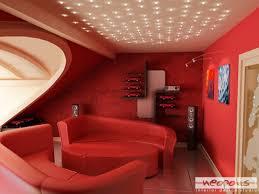 Bright Red Sofa Ultra Stylish Bright Living Room Decoration Idea With Red Sofa