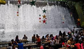 unique waterfall restaurant in philippine webjazba science