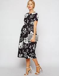 mode sty in bloom floral maternity dress finds