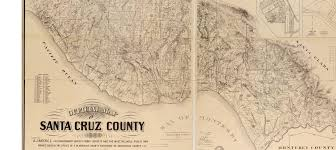 San Diego County Zoning Map official map of santa cruz county 1889 a land surveyor u0027s