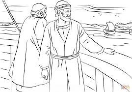 paul and barnabas missionary journey coloring page free
