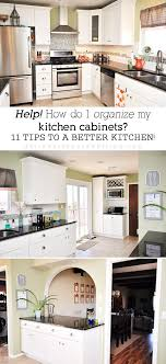 ideas to organize kitchen organizing kitchen cabinets free home decor techhungry us