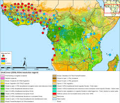 Sub Saharan Africa Physical Map by Speciation In Anopheles Gambiae U2014 The Distribution Of Genetic