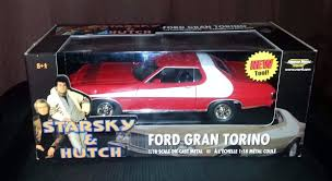 Starsky And Hutch Cast Starsky And Hutch Ford Gran Torino 1 18 Scale Die Cast Model Ertl