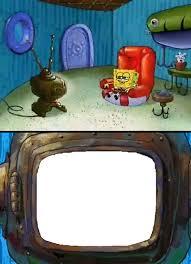 Meme Generator Spongebob - bart simpsons watches tv meme by cmara on deviantart