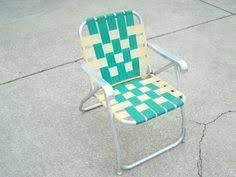 Vintage Aluminum Folding Chairs 60 U0027s Folding Chair Webbed Aluminum Collapsible By Elkhugsvintage