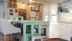 No Upper Kitchen Cabinets Simple Kitchen Idea For Your Studio Apartment With Wooden Kitchen