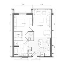 Bedroom Plans Floor Plans The Merc At Moody U0026 Main