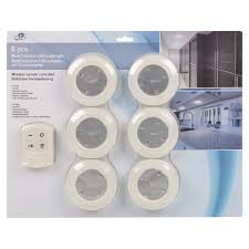 Remote Controlled Lights 6 Remote Control Wall Ceiling Wireless Round Led Lights Kitchen