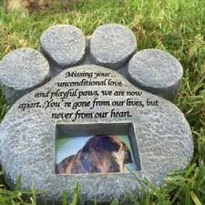 dog memorial pet memorial stones caring for a senior dog