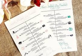 Wedding Itinerary Wedding Itinerary Welcome Cards For Hotel Guests