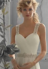 wedding dresses with straps morilee bridal removable beaded shoulder straps style 11067
