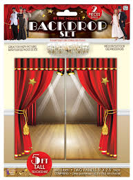 Hollywood Backdrop Cinema Theatre Hollywood Backdrop Set Poster Banner Wall Movie