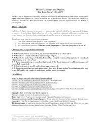how to make research paper outline thesis statement outline samples and statements for argumentative