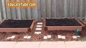 diy beautiful backyard vegetable garden bed for under 100 dollars