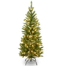 kingswood fir pencil artificial tree clear lights msrp