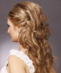 long wavy hairstyles half up half down hairtechkearney
