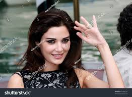 venice september 10 actress cyrine abdel stock photo 70383397