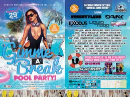 gimme a break pool party miami music week 2014 x change mmw 2014 x change at edm gimme a break pool party