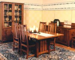 Arts And Crafts Dining Room Furniture Arts Crafts Dining Table Swartzendruber Furniture Creations