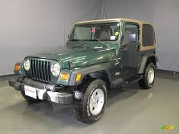 green jeep wrangler 2000 forest green pearl jeep wrangler sport 4x4 25062927
