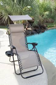 guidesman zero gravity lounge patio chair with canopy at menards