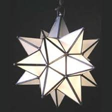Star Chandeliers Moravian Star Pendant Chandelier Large Frosted Glass By Worlds